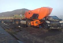 Hubo varios vehículos involucrados en el siniestro vial ocurrido en la RN 12, en la zona de la Isla Talavera en el complejo Zárate – Brazo Largo.