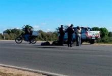 El siniestro vial se produjo en el Acceso Sur de Gualeguaychú con el saldo de una persona fallecida.