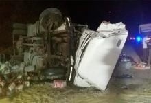 choque camiones Zárate-Brazo Largo
