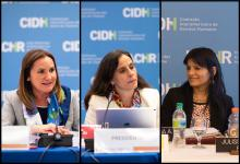 Por primera vez, la cúpula de la CIDH estará compuesta íntegramente por mujeres