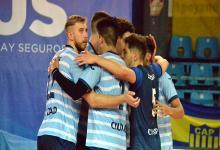 Vóley: Ciudad de Buenos Aires festejó con comodidad ante Once Unidos en la Liga Argentina
