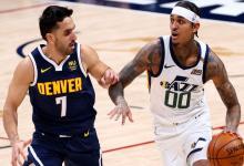 Facundo Campazzo participó de la derrota de Denver  a manos de Utah en la NBA