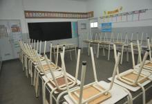 Suspendieron las clases