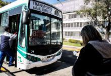 Realizan controles en el transporte público en Paraná