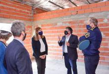 La ministra de Gobierno, Rosario Romero, recorrió las obras de la Comisaría Cuarta, las ampliaciones en la UP 4 y los terrenos donde se emplazará el Barrio Policial en Concepción del Uruguay.