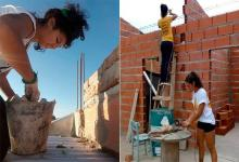 Mujeres albañiles Cooperativa La Pasionaria