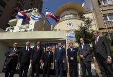 Inauguración en Paraná de un consulado de Uruguay