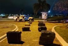 El cargamento de mercadería, valuado en más tres millones de pesos, iba a ser cruzado a Uruguay durante la noche, intentando sortear los controles aduaneros.