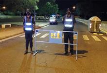 control policial nocturno en Paraná
