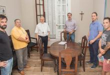 """En el marco de la emergencia sanitaria se firmó un convenio en el que se alojarán personas que deban ser aisladas en la """"Casa de Encuentro Virgen Peregrina"""" de Gualeguaychú."""