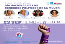Conversatorio Derechos Políticos de las Mujeres