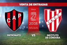 Copa Argentina: el jueves se pondrán a la venta las entradas para los hinchas de Patronato