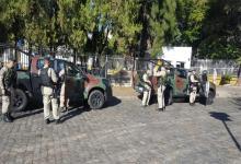 Sorprendieron a tres prefectos en un puesto de comunicaciones ubicado en Ezeiza.