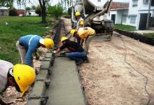 obras pavimento y cordón cuneta