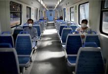coronavirus cuarentena trenes vacíos