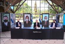 Alberto Fernández al anunciar la nueva cuarentena en el AMBA