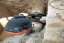 Obras Sanitarias corte de agua