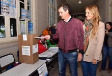 Enrique Cresto votó temprano en Concordia