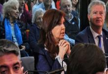 Cristina Fernández con abogado Carlos Beraldi