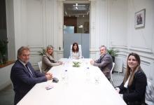 Cristina Fernández se reunió en el Instituto Patria con los precandidatos de Perotti