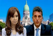 Cristina Kirchner y Sergio Massa