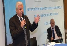 Lauritto disertó en el Seminario sobre la Cuenca del Río Uruguay.