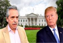 Alberto Fernández y Donald Trump: se verán en la Casa Blanca tras la asunción presidencial y antes del encuentro con el FMI y el BM.