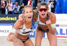 Beach Volley: la nogoyaense Gallay avanzó junto a Pereyra en el Mundial de Hamburgo