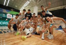 Con el entrerriano Respaud, Argentina clasificó al Mundial U17 de básquet