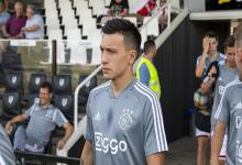 El gualeyo Lisandro Martínez tuvo su primer amistoso con el Ajax