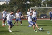 Copa América: Scaloni probó con Pezzella y Acuña entre los titulares