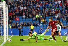 Con el debut de la concordiense Yael Oviedo, Argentina cayó con Inglaterra