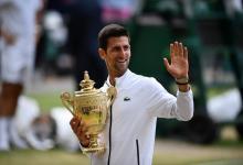 Djokovic superó a Federer la final más larga de la historia de Wimbledon