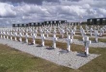 Inician los trabajos de identificación de los cuerpos en una tumba colectiva en el cementerio de Darwin.
