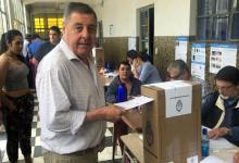 Alfredo De Ángeli votando
