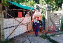 dengue bloqueo sanitario barrio Los Arenales