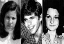 Mónica Tresaco, Rubén Gerenschtein y Margarita Ercole, tres de los jóvenes que siguen desaparecidos