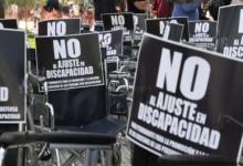 discapacidad protesta
