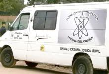División Criminalística móvil