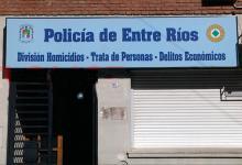 División Trata de Personas de la Policía de Entre Ríos