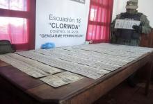 Fue hallado un total 34.161 dólares estadounidense, 21.930 pesos argentinos, dos mil pesos chilenos y 419 mil guaraníes.