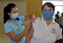 Hasta el momento se ha vacunado el 75 por ciento de la población objetivo.