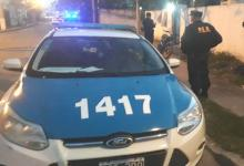 La Policía en el procedimiento de calle Ayacucho y Etchevehere de Gualeguaychú.