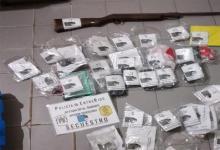 La Policía secuestró estupefacientes listaos para su comercialización.
