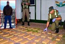 el concejal Irigoyen y la droga incautada