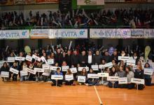 Quedaron inauguradas las finales provinciales de los Juegos Evita en Concordia