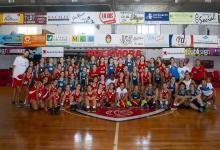 Básquet: Rocamora recibió a Malvin de Uruguay en un encuentro femenino