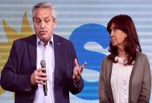 Alberto Fernández y Cristina Kirchner.