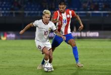 Paraguay derrotó a Venezuela para alimentar su sueño de clasificar al Mundial