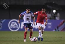 Tras el escándalo, Independiente no pudo sostener la ventaja y empató en Brasil